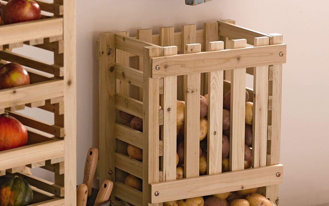 Transformer des cagettes en bois en corbeille à fruits et légumes